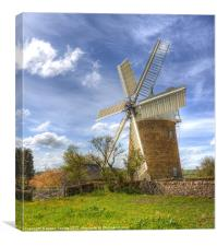 Heage Windmill, Canvas Print