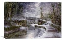 The Bridge to Holloway, Canvas Print