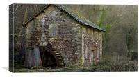 Old Water Mill, Canvas Print