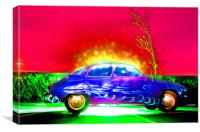 Saabs Delight, Canvas Print