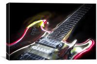 Fender Light, Canvas Print