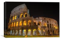 Coliseum in Rome, Canvas Print
