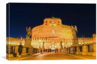 Castel Sant'Angelo, Canvas Print