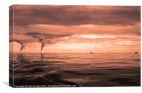 Carbon Footprint, Canvas Print