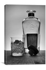 Scotch on the rocks, Canvas Print