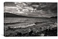 Banks of Loch Lomond, Canvas Print