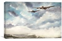 The Long Flight Home, Canvas Print