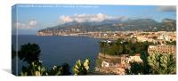 Sorrento, Italy, panorama, Canvas Print