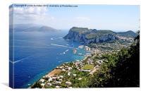 Island of Capri, Italy, Canvas Print