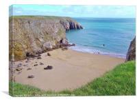 Pembrokeshire Coast, Canvas Print