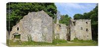 Candleston Castle, Merthyr Mawr, Canvas Print
