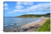 Langland Bay, Gower, Canvas Print