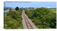 Tenby Railway, Canvas Print