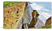 Glamorgan Heritage Coast, Canvas Print