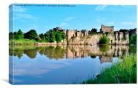Chepstow Castle, Canvas Print