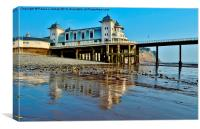 Penarth Pavilion, Canvas Print