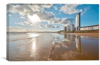 Swansea Bay, Canvas Print