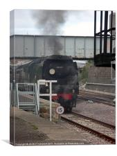 No. 34067 'TANGMERE' Steam Train, Canvas Print