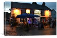 THE GEORGE IN CASTLETON, Canvas Print