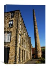 woodend mill, Canvas Print