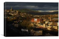 MOSSLEY AT DUSK, Canvas Print