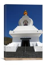 TEMPLE IN SPAIN, Canvas Print
