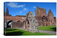 Sweetheart Abbey in Ayrshire Scotland, Canvas Print