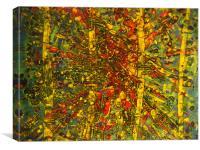 Eye On The Rainforest #22, Canvas Print