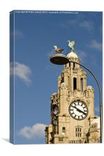 The Liver Birds Liverpool, Canvas Print