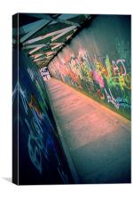 Urban City Alley Art Liverpool, Canvas Print