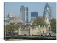 London Skyscape, Canvas Print