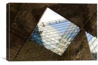 London Southbank Abstract, Canvas Print