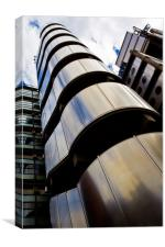 Lloyds Of London Building, Canvas Print