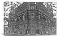 Leadenhall Market London, Canvas Print
