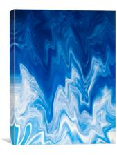 Digital Cloud Abstract, Canvas Print