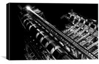 Lloyd's Building London, Canvas Print
