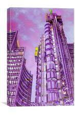 Willis Group and Lloyd's of London, Canvas Print