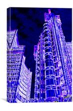 Willis Group and Lloyd's of London Art, Canvas Print