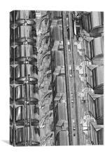 Lloyd''s Building London abstract, Canvas Print