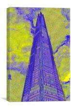 The Shard London Art, Canvas Print