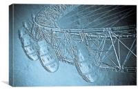 The London Eye Art, Canvas Print