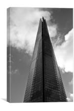 The Shard London, Canvas Print