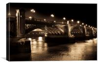 Southwark Bridge London, Canvas Print