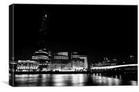 The South Bank London, Canvas Print