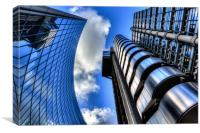 Willis Group and Lloyds of London, Canvas Print