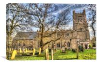 St Marys Church Great Dunmow, Canvas Print