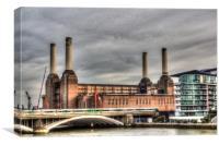 Battersea Power-Station London, Canvas Print
