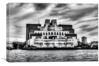 Secret Service Building London, Canvas Print