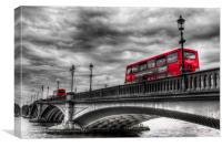 Battersea Bridge London, Canvas Print