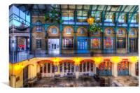 The Punch And Judy Pub Covent Garden, Canvas Print